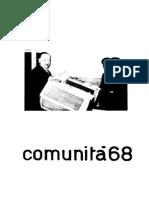 1968 06 Comunità 68
