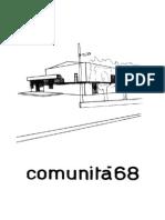 1968 08 Comunità 68
