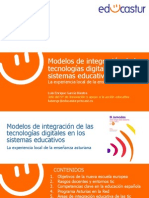 Modelos de Integracion de Las Tic en Los Sistemas Educativos