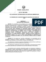 Ley 3001 de Servicios Ambientales 1