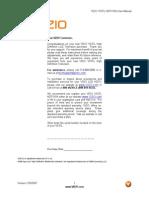 Vizio 37 Manual