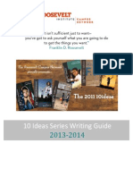 2013 2014 10 Ideas Writing Guide