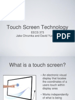 Touchscreens Final