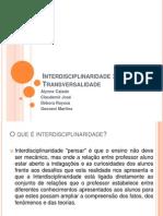 interdisciplinaridadextransversalidade-131023060814-phpapp01