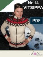 11265815-b016f0-14g - VITSIPPA -Gratis Version - Islandsk Stickad Kofta