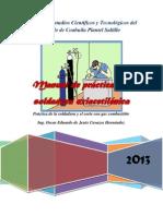 Manual de Practicas de Oxiacetilénico