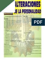 Alteraciones de La Personalidad (Por Editorial Rubiños)