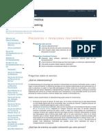 Preguntas y Problemas Frecuentes PDF