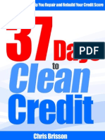 37 Days to Clean Credit eBook