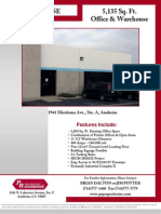 5,135 Sq. Ft. Office & Warehouse