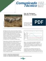 Uso de Pastagem Diferida No Cerrado
