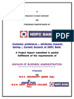 24804222 Gagan Puri HDFC CASA Report