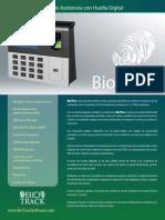 Biotime Espanol Brochure