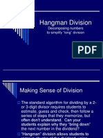 hangman division how to