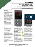 UDC1200_1700 Specifikacia - (en)