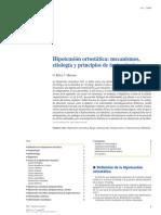 2014 Hipotensión Ortostática, Mecanismos, Etiología y Principios de Tratamiento