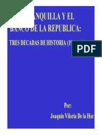 Banco de La Repubica Tres Decadas de Historia 1923-1951