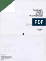 Planificación y Control de Obras de Costrucción - G. Santana Larenas