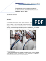 Cultura Nacional-Paraguay, Argentina