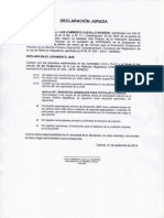 Formato D.J. Solicitud