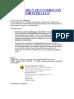 Instalación y Configuración de Servidor Proxy Con Webmin