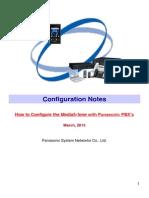 Configuration Notes for Media5-Fone V1