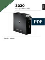 D3020 Hybrid Digital Amplifier Manual