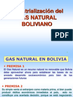 Industrialización Del Gas Natural Boliviano