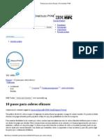 10 Pasos Para Cobros Eficaces _ Herramientas PYME
