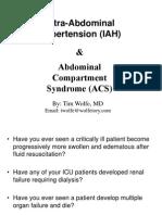 Abdominal Hypertension No Photos