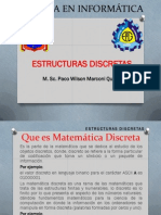 1 Dictado Del Curso de Matematica Discreta 2014