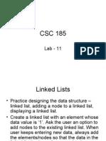 CSC 18-Lab 11
