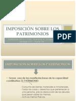 Imposición Sobre Los Patromonios