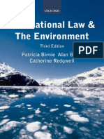 Birnie and Boyle (2009) - International Law and the Environment