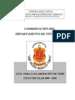 Guia Para Tesis Cert 2008-2009