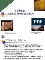 El Canon Biblico