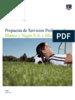 Propuesta Deloitte 2013 Blanco y Negro s.a.