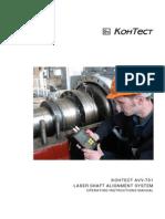 Manual de Alineador Laser AVV- 701 PRO