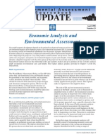 Update 23 Economic Analysis and e a April 1998