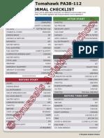 Checklist PA38 - 2013 Internet Copy
