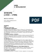 Dragoljub R. Zivojinovic - Uspon Evrope (1450-1789)