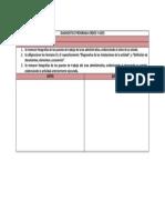 Diagnostico Programa Orden y Aseo