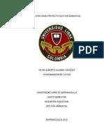 1er Informe Proyecto Gestion Ambiental (Editado Ultimo)