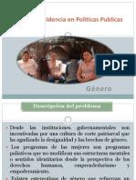Plan de Incidencia en Políticas Publicas Género
