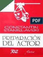Preparacion Del Actor - Constantin Stanislavsky
