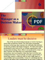 Chapter 6--The Manager as a Decision Maker.