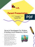 parent presenation- ece 497