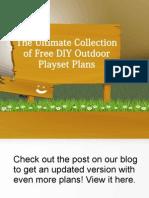 Ultimate List of 28 DIY Playset Plans
