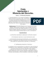 Guía Iniciación e Historia Del Derecho Parcial 2-3