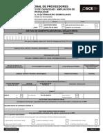 DRNP-SOR-For-0015 Aumento de Cap-Ampliación de Esp. Nac. o Ext Dom.